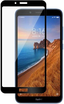 CEDO XPRO Edge To Edge Tempered Glass for Full Glue Coverage Screen Protector Xiaomi Redmi 7A Black(Pack of 1)