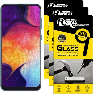 Roxel Impossible Screen Guard for Samsung Galaxy A9 Pro(Pack of 3)