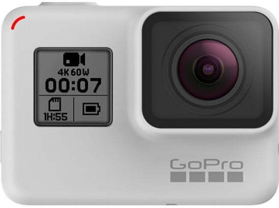 GoPro Special Edition 7 Black Sports and Action Camera(White, 12 MP)