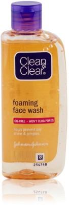Clean & Clear Oil & Won'tClog Pores Foaming Face Wash 100ml Face Wash(100 ml)