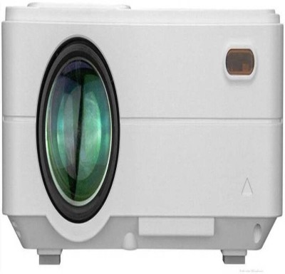 Style Maniac Android 4.4 Projector for Home Entertainment Business Office Outdoor Portable Projector(White)