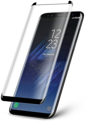 Owlam Edge To Edge Tempered Glass for Samsung Galaxy S8(Pack of 1)