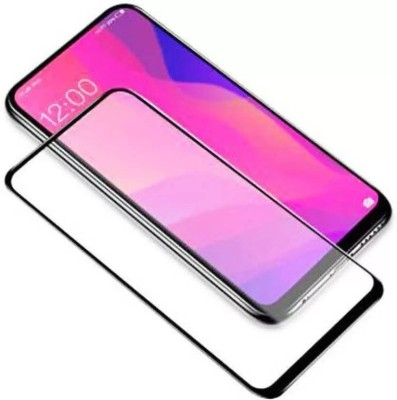 Signature EL Edge To Edge Tempered Glass for Reno 4 Pro - Made specially to suit Reno 4 Pro, ,Unique and Perfect(Pack of 1)