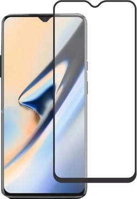 wrapitup Edge To Edge Tempered Glass for One Plus 7(Pack of 1)