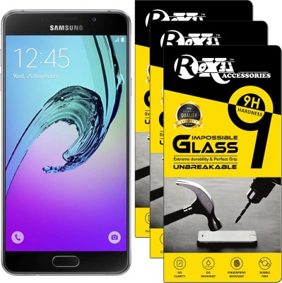 Roxel Impossible Screen Guard for Samsung Galaxy A3 (Pearl White, 16GB)(Pack of 1)