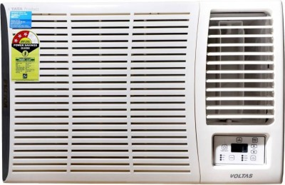 Voltas 1.5 Ton 3 Star Window AC  - White(183 DZA (R32)/183 DZA, Copper Condenser)