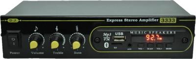 Disco Jhankar Express Music 3333 10 W AV Power Amplifier(Black)