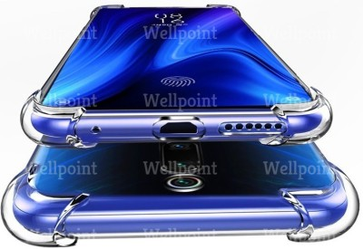 Wellpoint Back Cover for Mi K20, Mi K20 Pro, Mi K20, Mi K20 Pro, Plain, Case, Cover(Transparent, Grip Case)