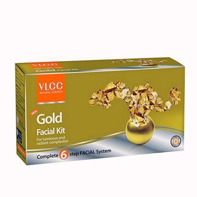 VLCC Natural Gold Facial Kit (6 Step)