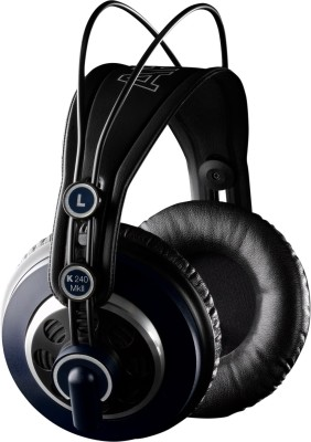 AKG K240 MKII HEADPHONE Wired Headset without Mic(Black, Wired over the head)