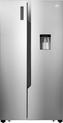 BPL 564 L Frost Free Side by Side 3 Star Refrigerator(Silver, BRS564H) at flipkart