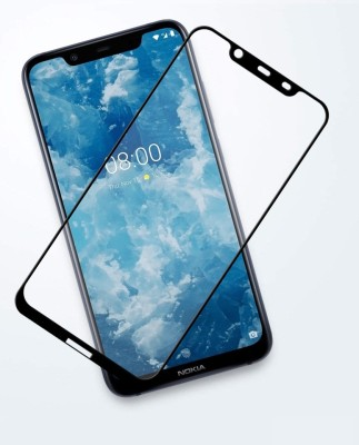 Ultimate Edge To Edge Tempered Glass for NOKIA 8.1(Pack of 1)