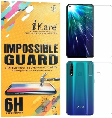 iKare Front and Back Screen Guard for Vivo Z1 Pro(Pack of 2)