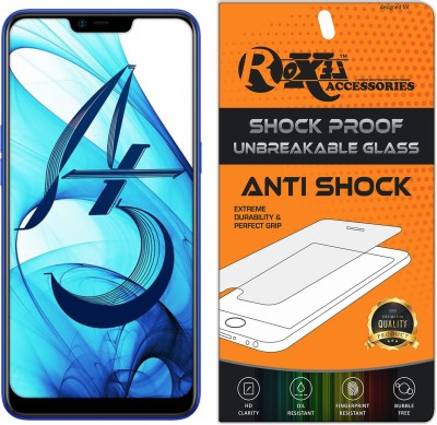 Roxel Screen Guard for OPPO A5 (Diamond Blue, 32 GB) (4 GB RAM)(Pack of 1)