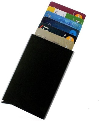 Roccia Indiano 4 Card Holder(Set of 1, Black)