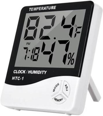 APTECHDEALS Digital White Clock