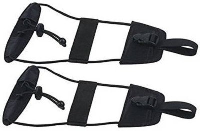Horoly 2pc Luggage Bag Strap Luggage Strap(Black)