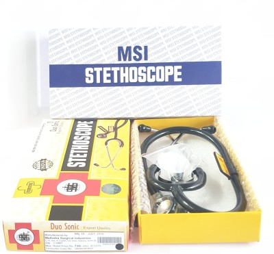 MSI Duo Sonic Export Quality Acoustic Stethoscope(Black)