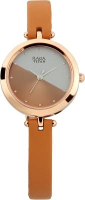 Titan2606WL01 Raga Viva 3 Analog Watch   For Women