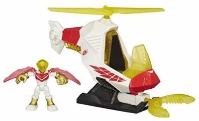Playskool Adventures Talon Copter with Marvels Falcon Action Figure(Multicolor)