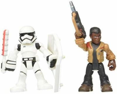 Playskool Heroes Star Wars Resistance Finn & First Order Stormtrooper(Multicolor)