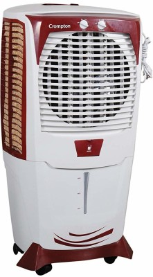 Crompton Greaves 22 L Tower Air Cooler(White, Mystique Turbo 22-Litre Tower Cooler)