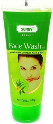 Sunny Gel Face Wash with Aloevera, Face Wash(100 g)