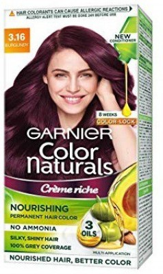 Garnier COLOR NATURALS Hair Color(BURGUNDY)