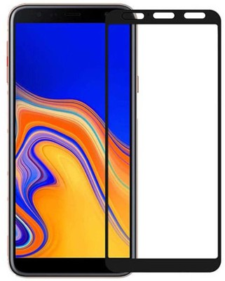 Casotec Edge To Edge Tempered Glass for Samsung Galaxy J4 Plus(Pack of 1)
