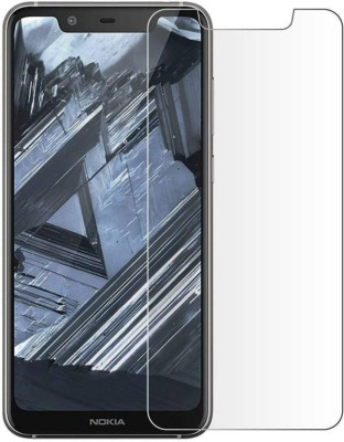 EASYBIZZ Tempered Glass Guard for Nokia 5.1 Plus(Pack of 1)