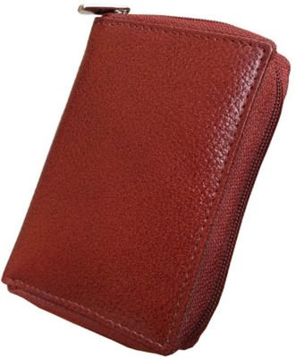 MATSS Matss Genuine Brown Leather||Unisex Travel Organiser||Debit & Credit Holder {24 Card Slot} 24 Card Holder(Set of 1, Brown)