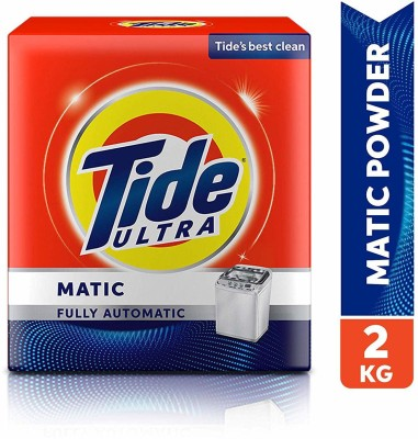 Tide Ultra Matic Machine Wash Detergent Washing Powder(2 kg)