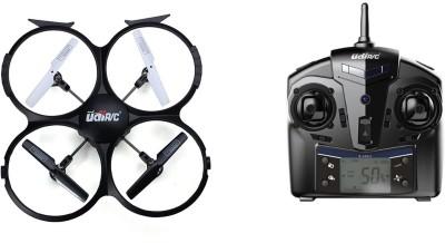 Udi RC U818A 2.4GHz Rc Drone with HD Camera (720P) - 4Ch (6 Axis)(Black)