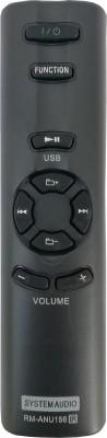 LipiWorld Home Theater Remote Compatible with RM-ANU156 SA-D10 SA-D100 SA-D40 RM-ANU156 Compatible Remote COntrol Remote Controller(Black)