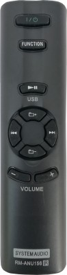 LipiWorld Home Theater Remote Compatible with RM-ANU156 SA-D10 SA-D100 SA-D40 RM-ANU156 Compatible Remote COntrol Sony Remote Controller(Black)