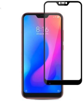 Ultra Clear Edge To Edge Tempered Glass for Mi Redmi 6 pro(Pack of 1)