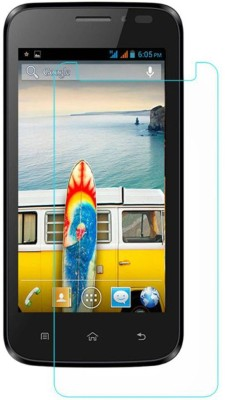 CHAMBU Tempered Glass Guard for Micromax Canvas Fun A76(Pack of 1)