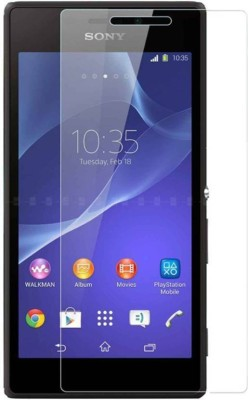 ATHIK Tempered Glass Guard for Sony Dual Xperia M2 Dual(Pack of 2)