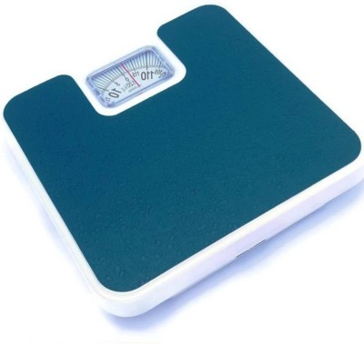 WDS ®Analog Weight Machine For Human Body With Capacity 120 Kg Weighing Scale(Blue)