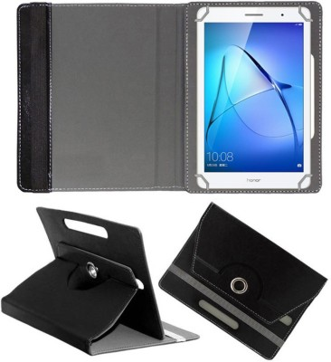 Fastway Book Cover for Honor Mediapad T3 Kobe-L09ahn Tablet (8inch)(Black, Cases with Holder)