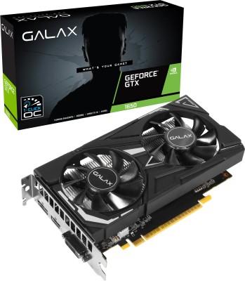 GALAX NVIDIA GTX1650 EX-1 CLICK OC 4 GB GDDR6 Graphics Card(Black)