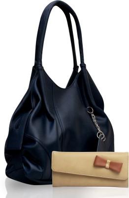 Fostelo Women Blue Shoulder Bag(Pack of: 2)