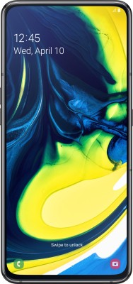 Samsung Galaxy A80 (Phantom Black, 128 GB)(8 GB RAM)