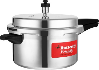 Butterfly Friendly 5 L Induction Bottom Pressure Cooker(Aluminium)