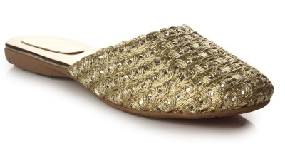DO BHAI Women Gold Casual DO BHAI Women's Footwear