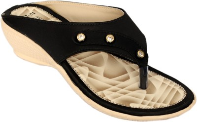 Dolphin Miles Women Black Wedges Dolphin Miles Wedges