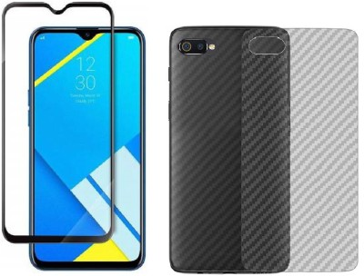 Karpine Front and Back Screen Guard for Realme C2, OPPO A1K(Pack of 1)