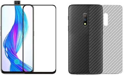 Cheeky Front and Back Screen Guard for Realme 5 Pro(Pack of 1)