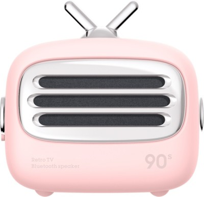 CLAW A2 Retro Portable 3 W Bluetooth Home Theatre(Pink, Mono Channel)