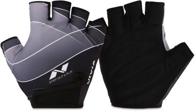 Nivia Crystal Gym & Fitness Gloves(Black)